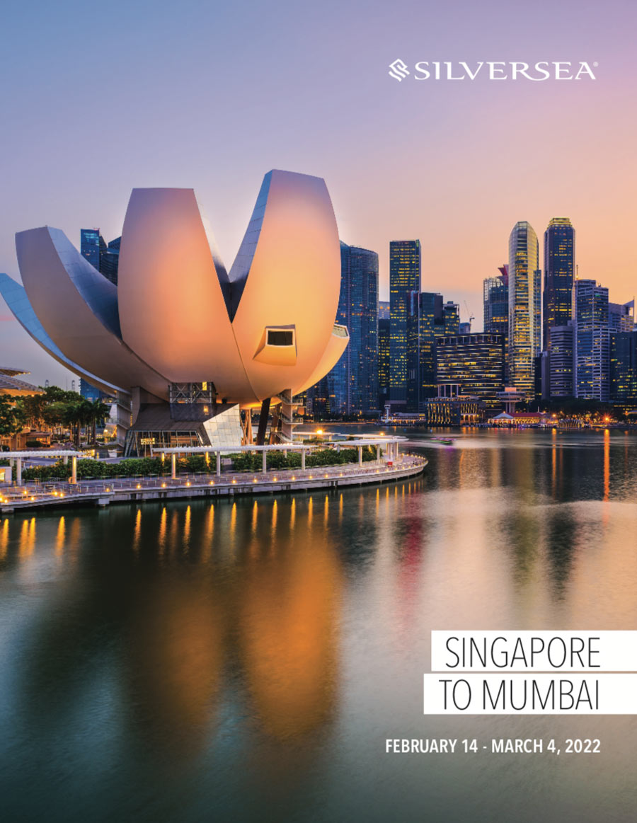 CRUISE ~ Singapore to Mumbai with Chef Vikram Vij - 18 nights departing February 2022